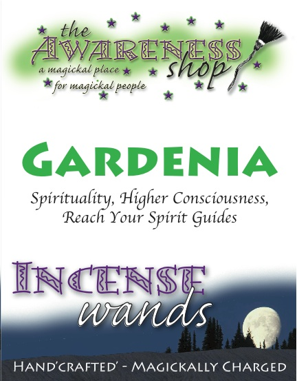 Gardenia - Handcrafted Incense Wands