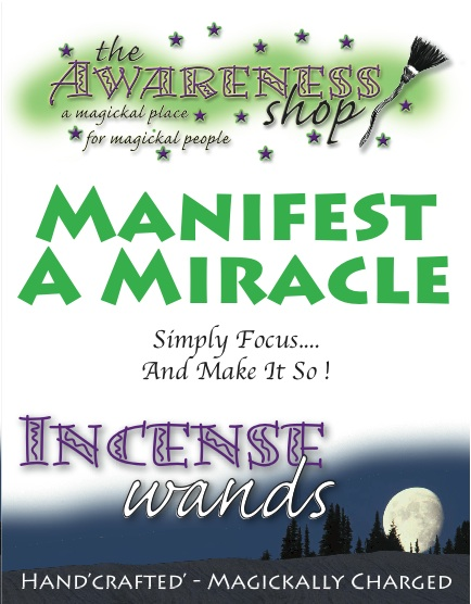 Manifest A Miracle - Handcrafted Incense Wands