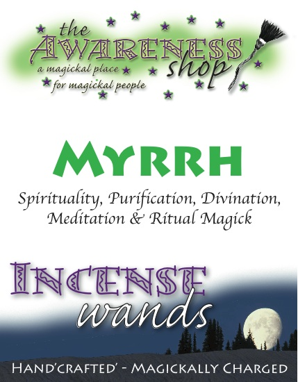 Myrrh - Handcrafted Incense Wands