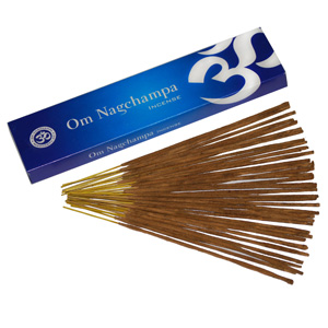 Om Nag Champa Incense - 40 grams
